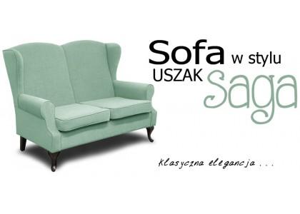 Sofa Saga w stylu Uszak