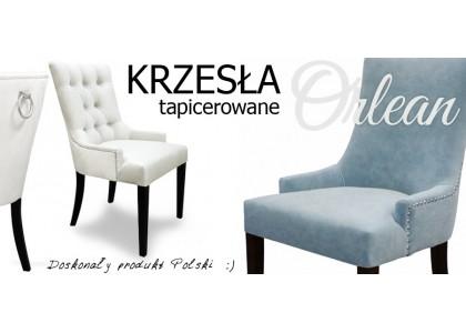 Krzesło tapicerowane Orlean