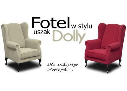 Fotel Dolly w stylu uszak