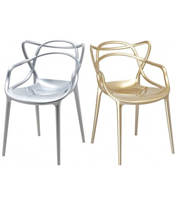 Krzesło inspirowane Masters Metalik