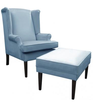 Fotel Focus z podnóżkiem