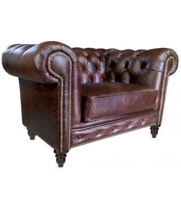 Fotel Chesterfield Bajron