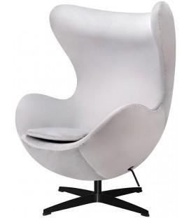 Fotel w stylu Egg Classic Velvet