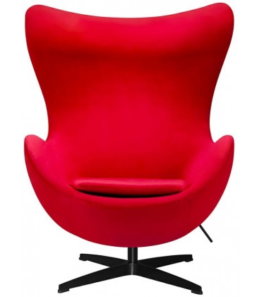 Fotel w stylu Egg Velvet
