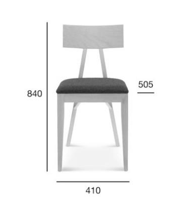 Krzesło Akka Wood