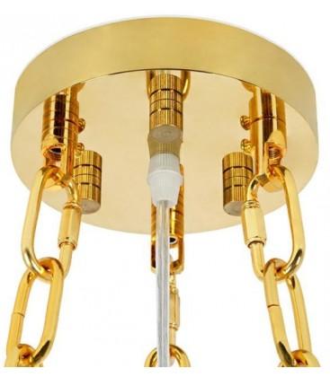 Lampa wisząca IMPERIAL GOLD 80 cm / 60 cm