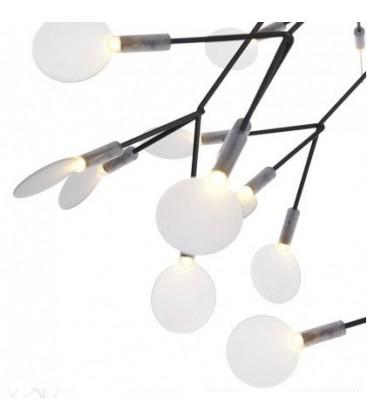 Lampa Chic Botanic Max Black
