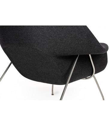 Fotel Cozy z podnóżkiem
