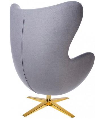 Fotel Egg Szeroki Wełna