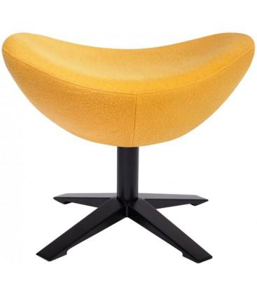Fotel z podnóżkiem w stylu Hans