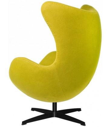 Fotel w stylu Egg Classic Wełna