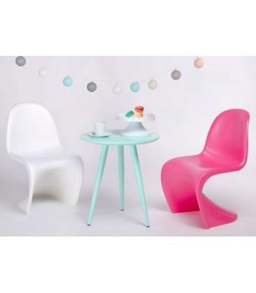 Krzesło dziecięce w stylu Panton Junior