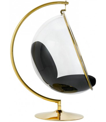 Fotel Bubble Stand Gold