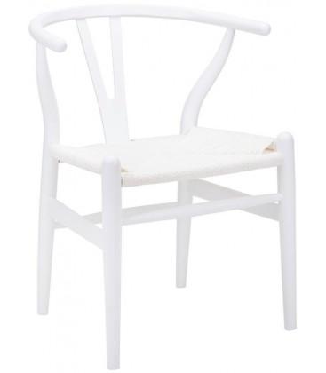 Krzesło Wishbone Black & White