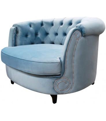 Fotel Okrągły Otomana