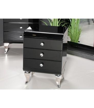 Szafka nocna - stolik Modern Glam Black & White