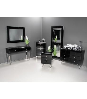 Konsola Modern Glam Black & White