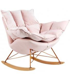Fotel Swing bujany Welur