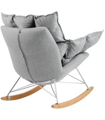 Fotel Swing bujany Tkanina