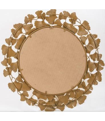 Lustro okrągłe Flower II