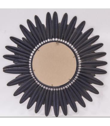 Lustro okrągłe Flower III