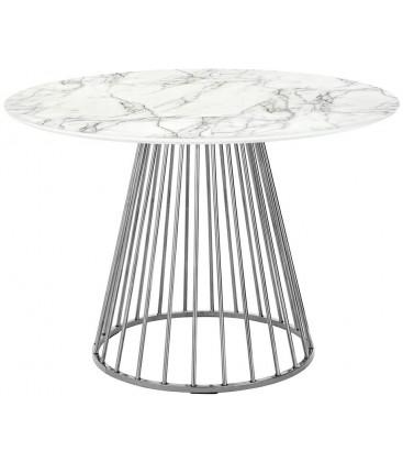 Stół Marble Glam Chrom