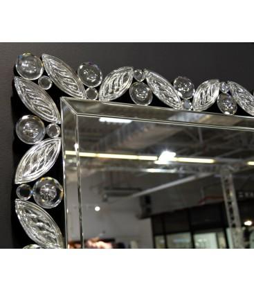 Lustro Seria Flora Crystalik 60 cm x 88 cm