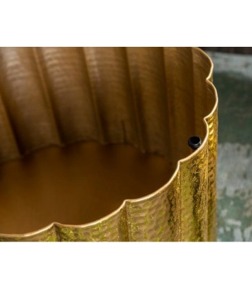 Stolik kawowy LIQUID Oriental 60 gold INVICTA