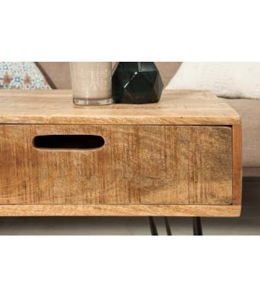 Stolik kawowy SCORPION 100 cm szuflady
