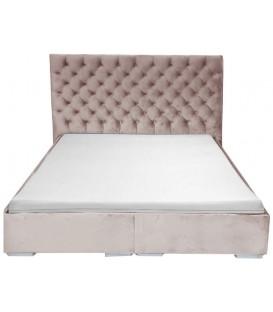 Łóżko Chesterfield Klasyk Materiał
