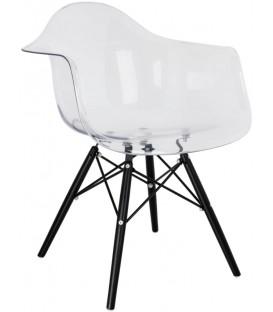 Krzesło Ice Wood Black