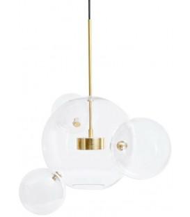Lampa wisząca Capri 4 klosze