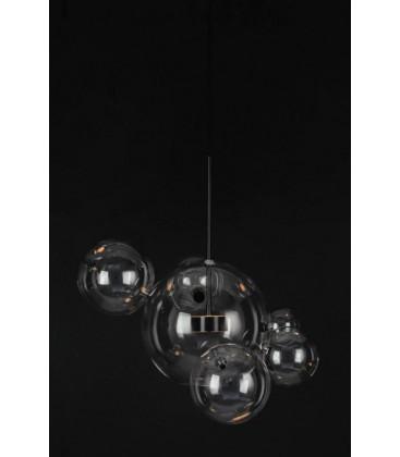 Lampa wisząca Capri 6 Black