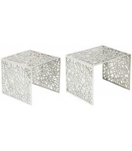 Komplet stolików Abstract Ażur INVICTA