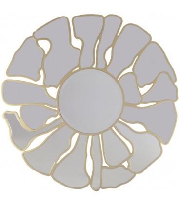 Lustro okrągłe Flower