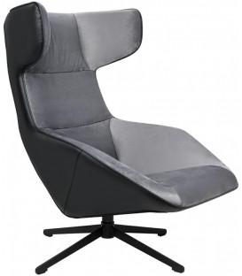 Fotel Vita Velvet obrotowy