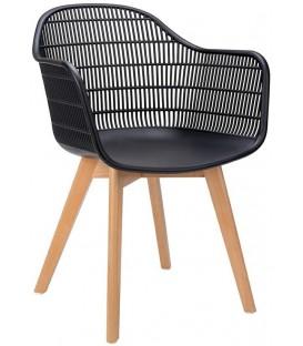 Krzesło Basket Arm Wood Modesto