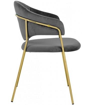 Fotel Naomi Welur