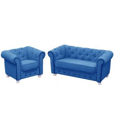 Zestaw Chesterek (sofa plus fotelik)