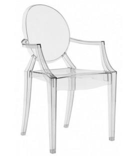Krzesło w stylu Louis Ghost