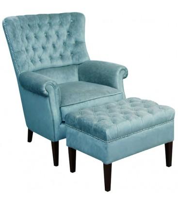 Fotel Prima z podnózkiem