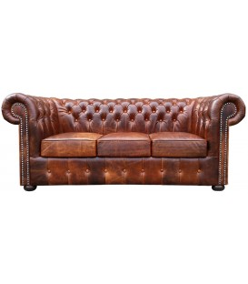 Sofa Chesterfield College 3 os.