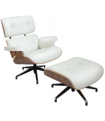 Fotel Vip z podnóżkiem