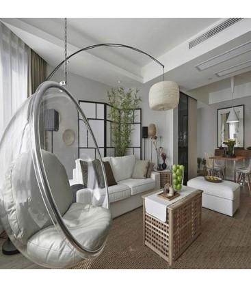 Fotel Bubble Transparentny