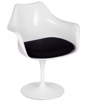 Krzesło Tulip z podłokietnikami