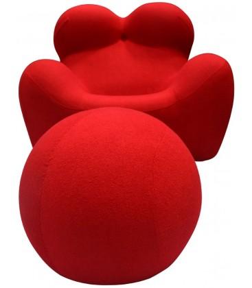 Fotel Big Mama z podnóżkiem