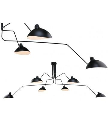 Lampa Raven wisząca 6 kloszy