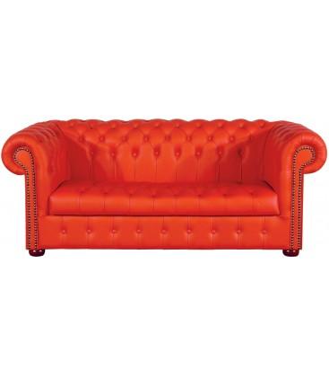 Sofa Chesterfield Klasyk pikowane siedzisko