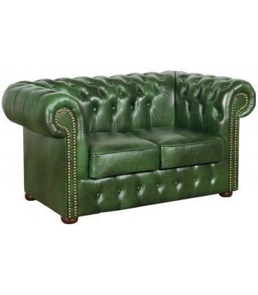 Sofa Chesterfield Klasyk 2 skóra