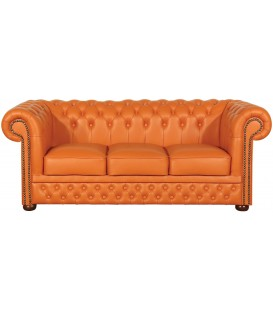 Sofa Chesterfield Klasyk 3 podwójny pik